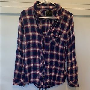 Rails long sleeved button down